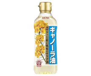 昭和キャノーラ油400g