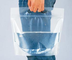 緊急用給水袋(3L/1P) マチ付き