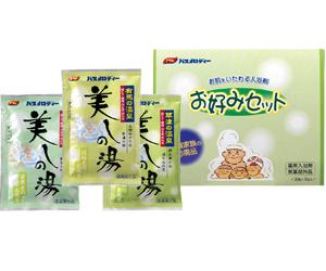 アサヒバスメロディ お好みセット3包(草津,有馬,道後)