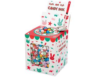 カラフルハートチョコレートプレゼント