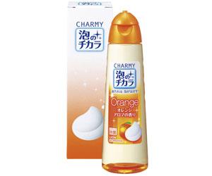 ライオン チャーミー泡のチカラ オレンジアロマの香り 箱入