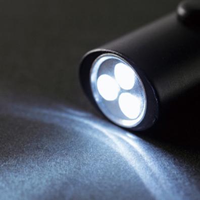 LED3灯ライトキーホルダー