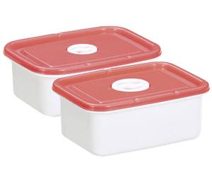 マロンの便利な保存容器2個組