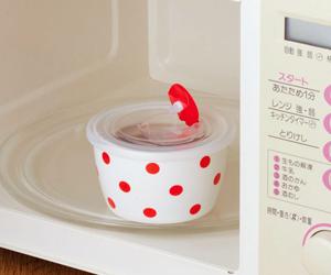 【ポルカドット】レンジパック小鉢