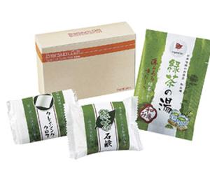 緑茶の入浴セット
