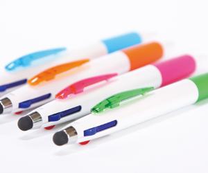 3色ボール&タッチペン