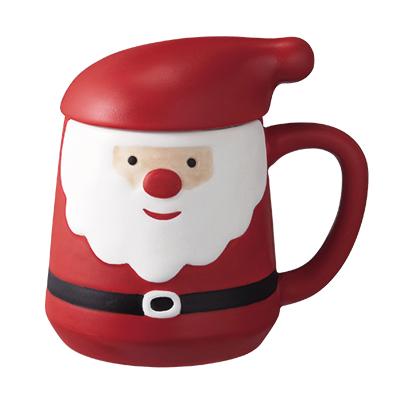 フタ付マグカップ<クリスマス>