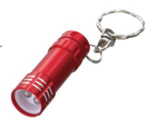 3灯式LEDライト(キーリング付)