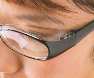 花粉・ほこりメガネ