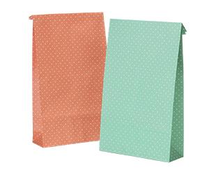 水玉紙袋(小)