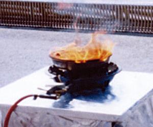 防炎タオル