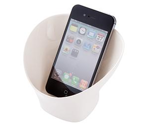 モバイルスピーカーカップ