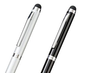 タッチペン付メタルスクリューペン