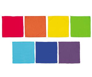 マイクロファイバークロス7枚組 虹