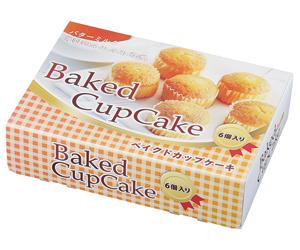 プレーンカップケーキ6個入