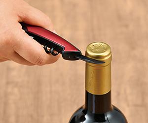 ツーステップワインオープナー