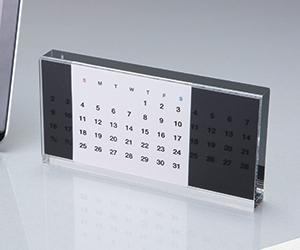 アクリル万年カレンダー