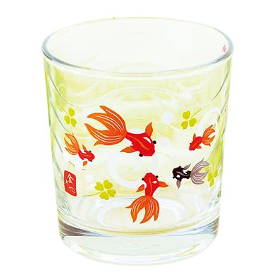 金魚や・波グラス
