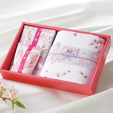和のこころ・桜 バスタイムセット