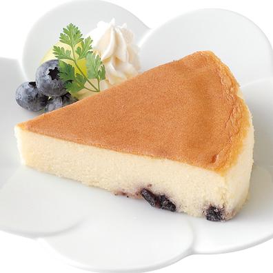 しっとりブルーベリーチーズケーキ