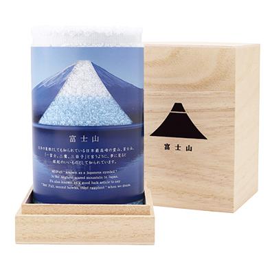 富士山 ハンドタオル 木箱