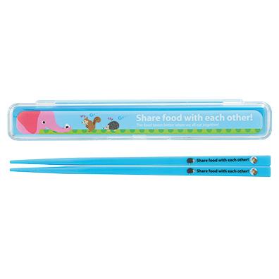 ピクニックアニマル 箸・箸箱セット