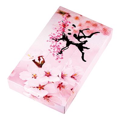 桜 BOX ティッシュ