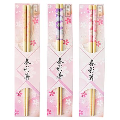 春彩箸 白竹伊勢型紙調