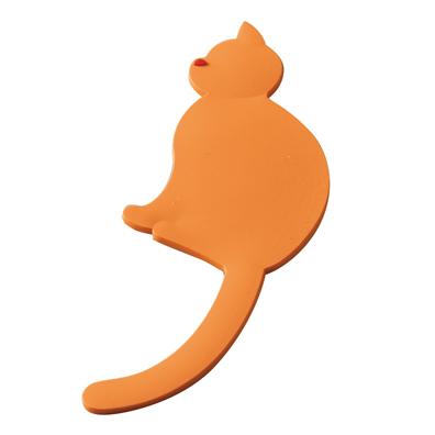 ネコ型マグネットフック