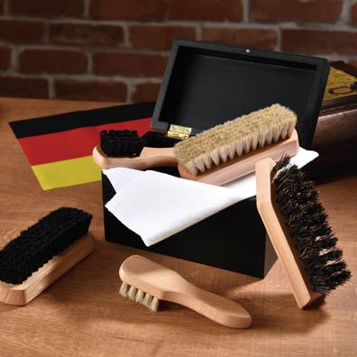 ドイツ産ブナ材シューシャインセット
