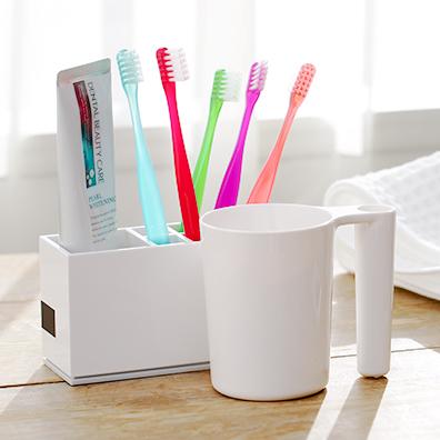 カラフル歯ブラシ(キャップ付)