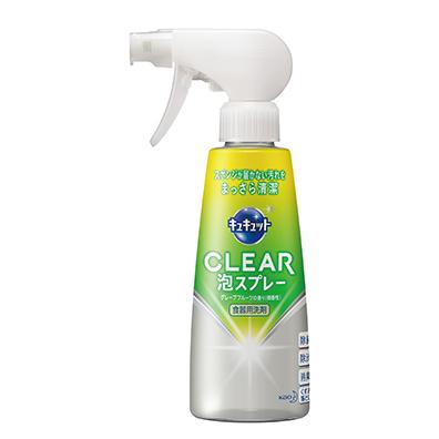 キュキュット CLEAR泡スプレー300ml 1本