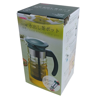 HARIO かご網付き水出し茶ポットミニ0.7L
