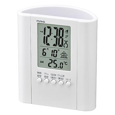 ペンスタンド付デジタル時計