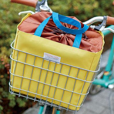 カラモ 自転車カゴバッグ