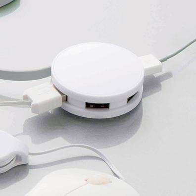 USBハブ ラウンド