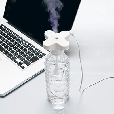 パーソナル加湿器ボトルキャップタイプ