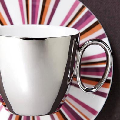 ヴェルージュ・ミラーカップ&ソーサー