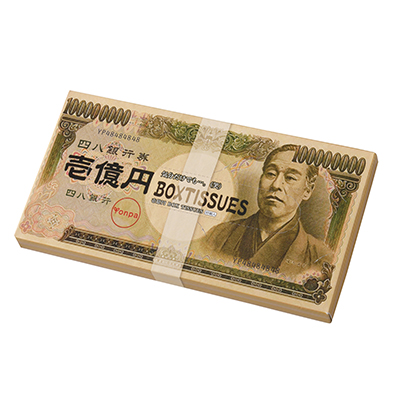 壱億円BOXティッシュ30W