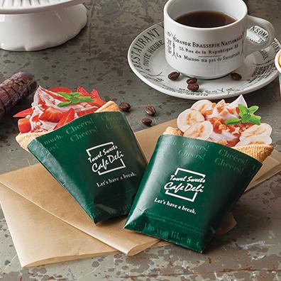 CafeDeli クレープタオル 1個