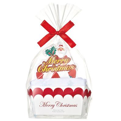 クリスマスケーキタオル(1枚入)
