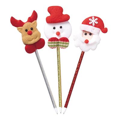 クリスマスマスコットボールペン