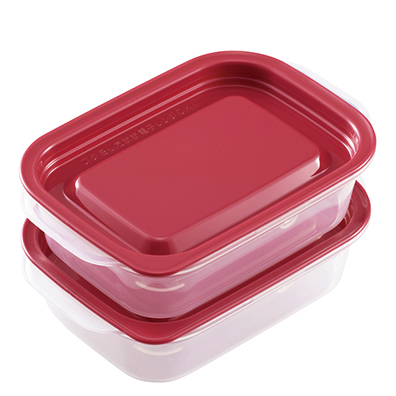 タニタ食堂おすすめ レンジ対応保存容器4個入