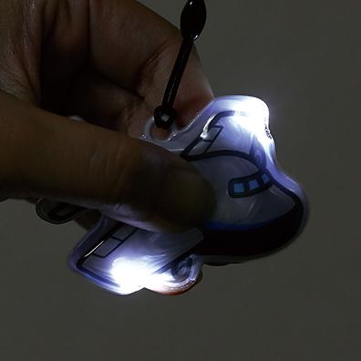 反射機能付き!乗り物LEDライト
