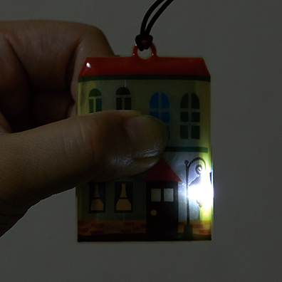 反射機能付き!ハッピーハウス LEDライト