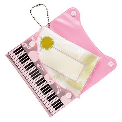ピアノライン 反射ポケッティケース(ピンク)