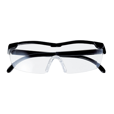 両手が使えるメガネ型ルーペ