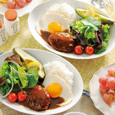 Cafeメシ ロコモコ丼の素2食組