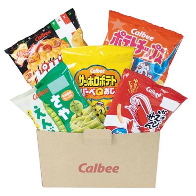 カルビー バラエティセット(5袋入)
