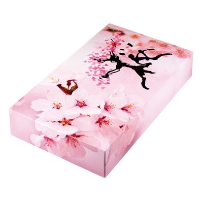 桜 ボックスティッシュ40W